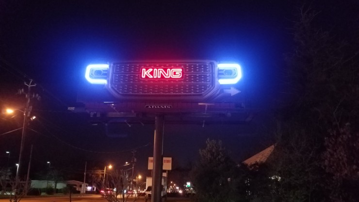 King GMC LED Project