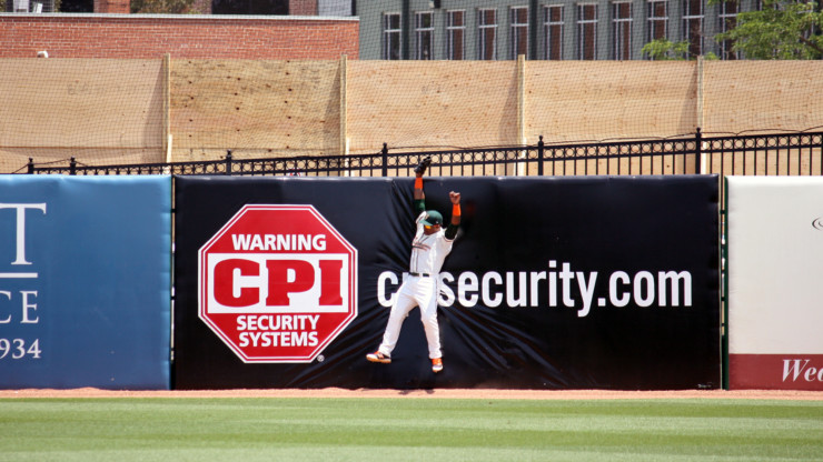 Outfield Wall Signage